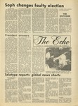 The Echo: October 1, 1976 by Taylor University