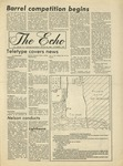 The Echo: October 8, 1976 by Taylor University