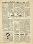 The Echo: November 12, 1976 by Taylor University