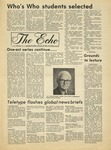 The Echo: November 19,1976 by Taylor University