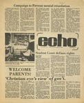 The Echo: September 30,1977 by Taylor University