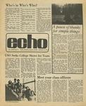 The Echo: November 18,1977 by Taylor University