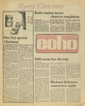 The Echo: December 9,1977 by Taylor University