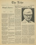 The Echo: September 22,1978 by Taylor University