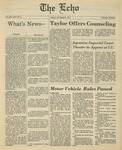 The Echo: October 6, 1978 by Taylor University