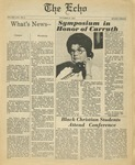 The Echo: October 27,1978 by Taylor University