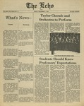 The Echo: December 1, 1978 by Taylor University