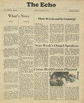The Echo: October 5, 1979 by Taylor University