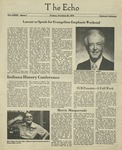 The Echo: October 26,1979 by Taylor University