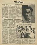 The Echo: November 9,1979 by Taylor University