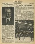 The Echo: November 16, 1979 by Taylor University