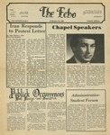 The Echo: February 22, 1980 by Taylor University