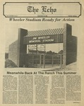 The Echo: September 19, 1980 by Taylor University