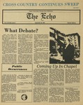 The Echo: September 26, 1980 by Taylor University