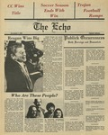 The Echo: November 7, 1980 by Taylor University