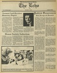 The Echo: November 14, 1980 by Taylor University