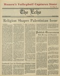 The Echo: November 21, 1980 by Taylor University