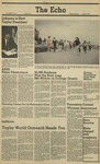 The Echo: March 13, 1981 by Taylor University