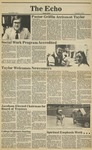 The Echo: September 18, 1981 by Taylor University