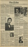 The Echo: October 2, 1981 by Taylor University