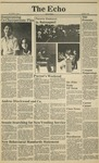 The Echo: October 9, 1981 by Taylor University