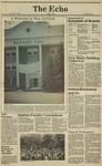 The Echo: October 16, 1981 by Taylor University