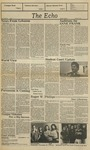 The Echo: November 5, 1982 by Taylor University