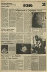 The Echo: April 13, 1984 by Taylor University