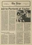 The Echo: March 1, 1985 by Taylor University