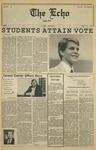 The Echo: November 10, 1985 by Taylor University