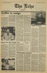 The Echo: November 24, 1985 by Taylor University