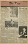 The Echo: February 9, 1986 by Taylor University