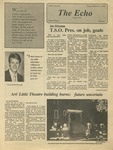 The Echo: September 12, 1986 by Taylor University