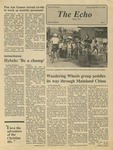 The Echo: September 19, 1986 by Taylor University