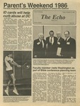 The Echo: October 10,1986 by Taylor University