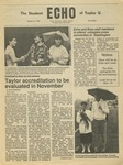 The Echo: October 31, 1986 by Taylor University