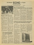 The Echo: November 14, 1986 by Taylor University