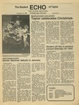 The Echo: December 12, 1986 by Taylor University