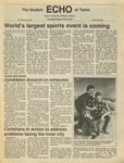 The Echo: February 20, 1987 by Taylor University