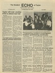 The Echo: February 27, 1987 by Taylor University