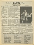 The Echo: March 13, 1987 by Taylor University