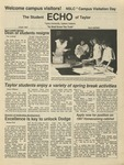 The Echo: April 3, 1987 by Taylor University