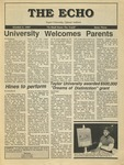 The Echo: October 2, 1987 by Taylor University