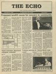 The Echo: November 6, 1987 by Taylor University