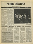 The Echo: November 13, 1987 by Taylor University