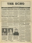 The Echo: February 12, 1988 by Taylor University