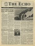 The Echo: October 14, 1988 by Taylor University