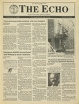 The Echo: February 3, 1989 by Taylor University