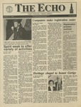 The Echo: October 19, 1990 by Taylor University