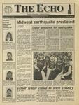 The Echo: November 30, 1990 by Taylor University